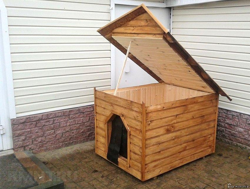 двускатная крыша для будки